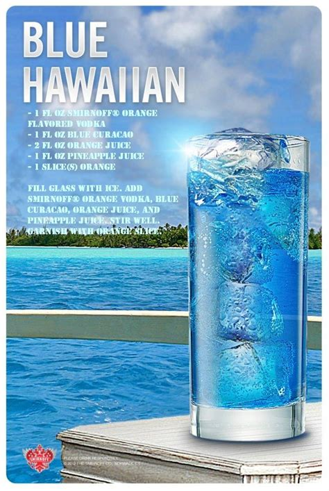 blue hawaiian drink recipe of the day drink recipes of