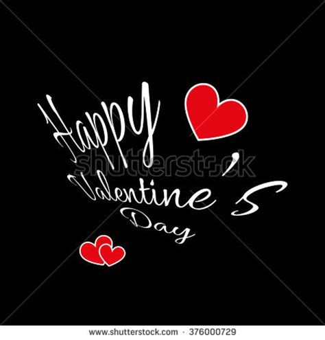 happy valentines day fancy writing you lettering stock vector 577068742