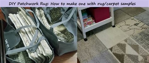 Diy Patchwork Rug - diy patchwork wool rug fancy nanna