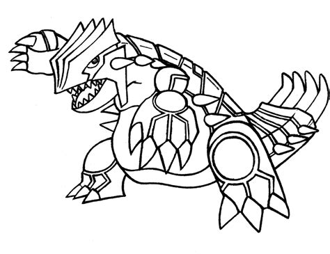 pokemon coloring pages groudon and kyogre groudon coloring pages coloring home