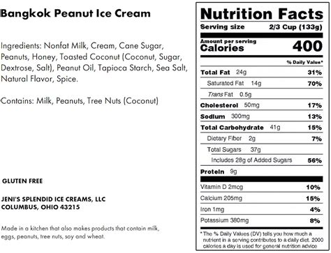 Planters Peanuts Nutrition Facts by Nutritional Information Peanuts Roasted Nutrition