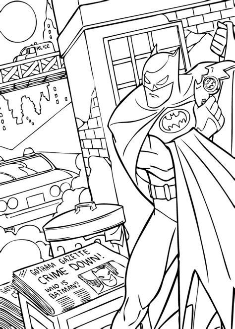 batman coloring pages hellokids com batman fighting crime coloring pages hellokids com