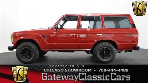 classic land cruiser interior 1986 toyota land cruiser gateway classic cars chicago 919