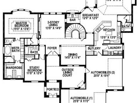 castle house plans mansion house plans 8 bedrooms 8