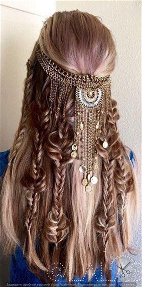 Best Boho Wedding Hairstyles by Best 20 Bohemian Hairstyles Ideas On Hippie