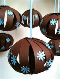 barefoot sewing crafting baby shower hanging balls