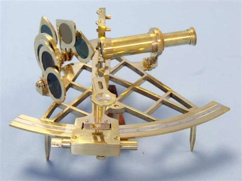 sextant homes buy admiral s brass sextant with rosewood box 12 inch