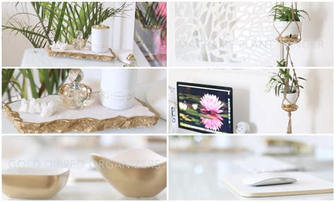 how to decor home diy desk home office decor ideas