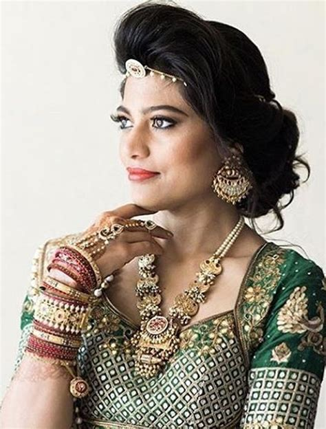 Hairstyles For 40 Indian by 40 Indian Bridal Hairstyles For Your Wedding Best
