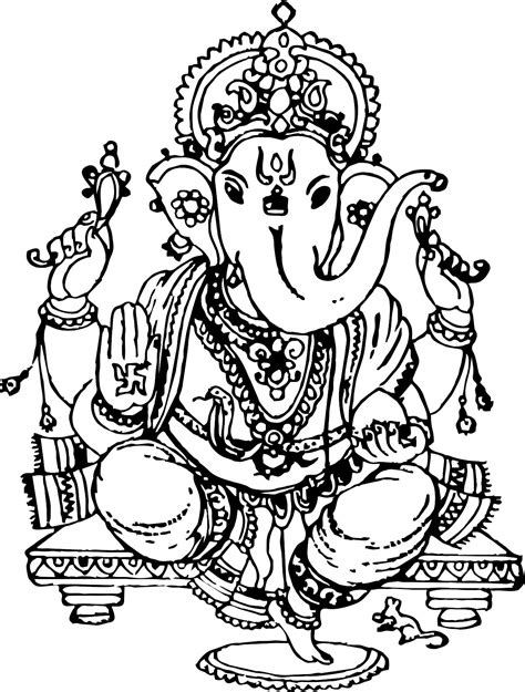 black and white wallpaper of god indian elephant god black and white www imgkid com the
