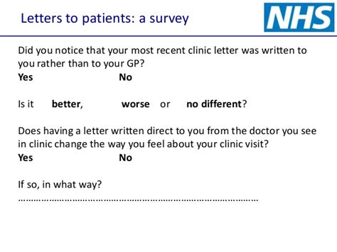 Confirmation Letter From Gp Writing Letters To Patients And Copying Gp In