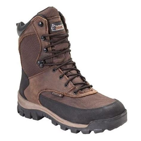 rocky mens 8in waterproof insulated outdoor boots 4753