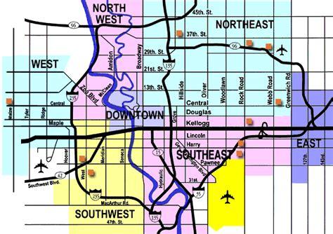 kansas city zip code map