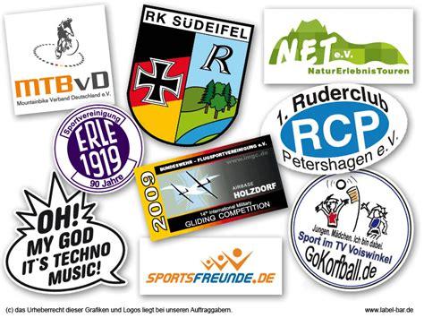 Sticker Drucken Lassen K Ln by Vereinsaufkleber Aufkleber F 252 R Vereine Drucken Lassen
