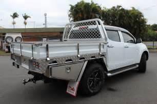 Isuzu Dmax Tray Back Toyota Landcruiser Aluminium Ute Tray