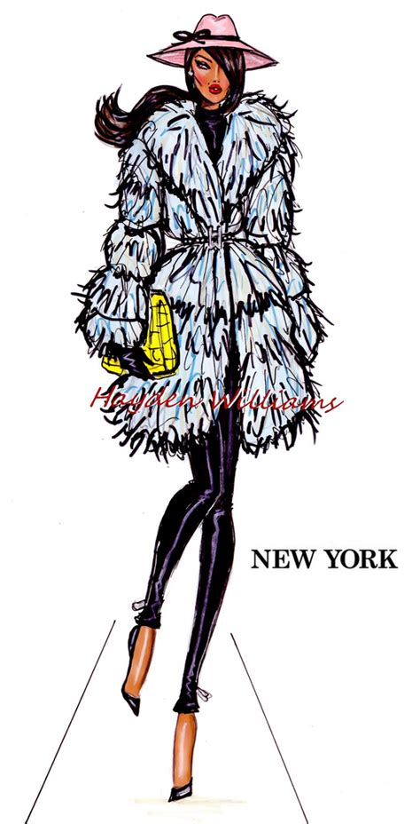 hayden williams fashion illustrations city style by