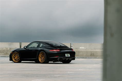 porsche black 911 black porsche 911 carrera adv7r m v2 cs series wheels