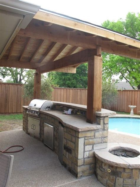 creative outdoor kitchens flats swimming and built ins on