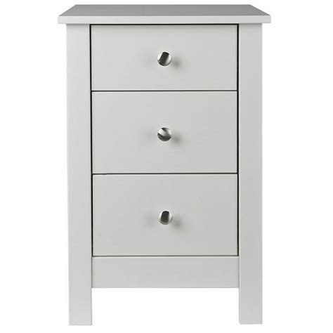 White Bedside Table Abdabs Furniture Florence White Bedside Table