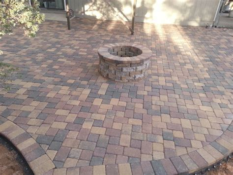 blend color belgard pavers installed company