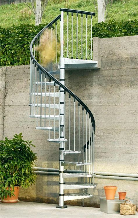 outdoor staircase design exterior spiral staircase making it last for years