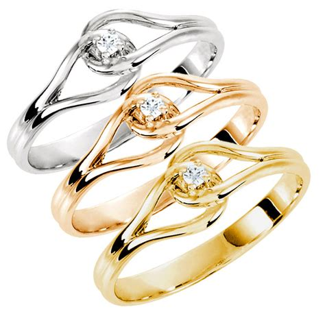 link purity ring in 14k gold 1073