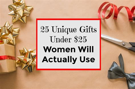 gifts under 25 25 unique gifts under 25 women will actually use