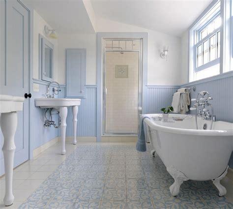 kleines blaues badezimmer innendesign in blau und wei 223 frische farben wirken