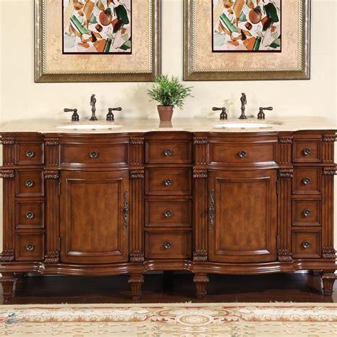 silkroad exclusive antique 72 quot sink vanity