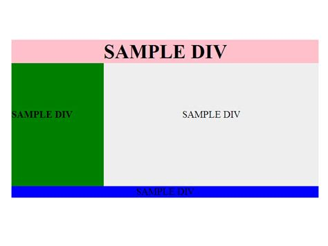 div website how to design a simple web page in div 4 steps with