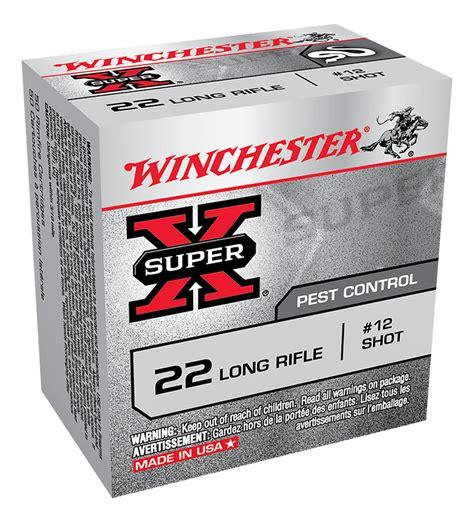 22 long rifle rat shot winchester super x rat shot 22lr 12 shot ammunition gun