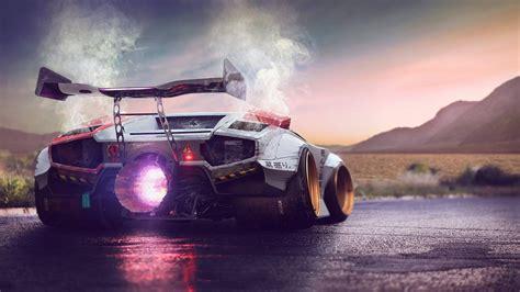 Car Back View Wallpaper by Wallpaper Lamborghini Concept Supercar Back View