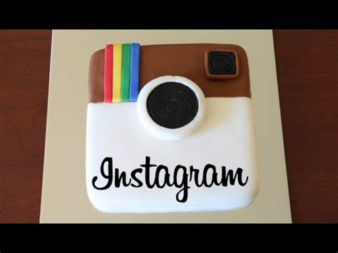 how to make an instagram cake youtube