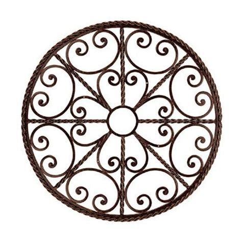 Wrought Iron Ceiling Medallions by 30 Inch Iron Scroll Ceiling Medallion Or Wall Decor 275