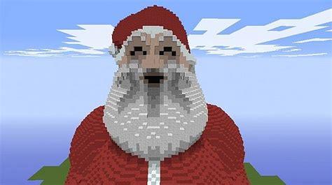 best pixel merry christmas merry santa pixel minecraft project