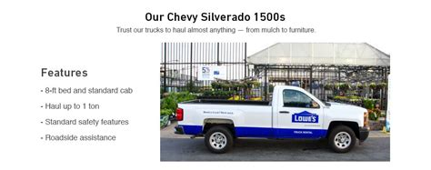 truck rentals at lowe s - Lowes Truck Rental