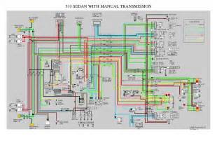 datsun 510 wiring diagram z car