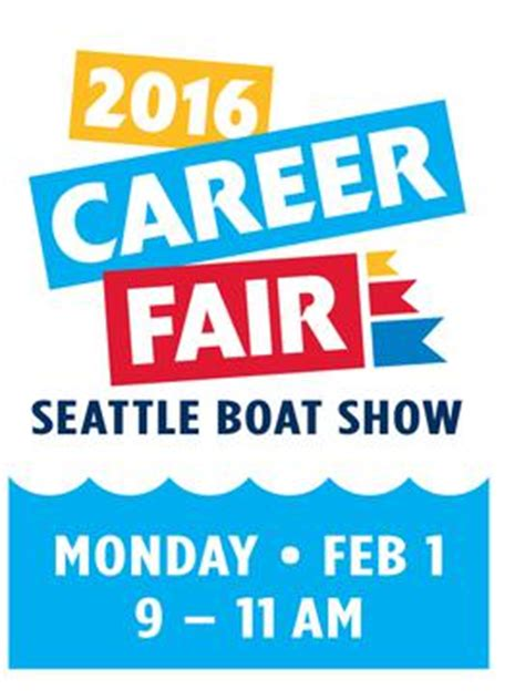 nmta seattle boat show nmta marine career fair at seattle boat show 2016