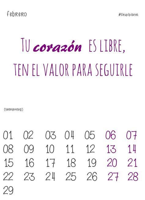 Calendario P Imprimir 2016 M 225 S De 1000 Ideas Sobre Calend 225 2016 Para Imprimir En