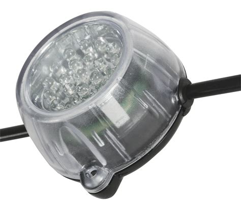 volt lighting defender led festoon lighting 50 metre kit 110 volt only