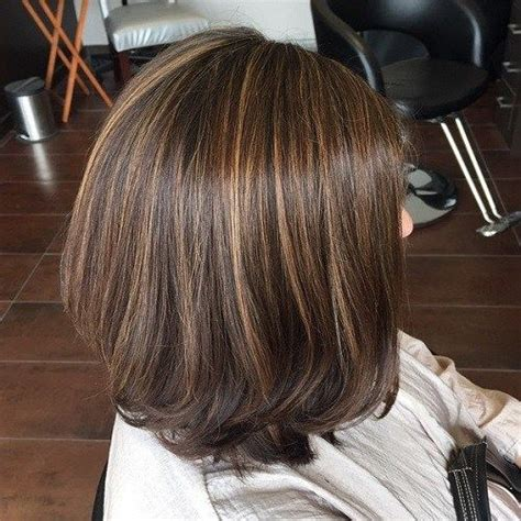 short haircuts brunettes with gray highlights 20 ideas for brown hair with highlights light brunette