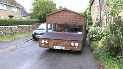 Shed On Wheels by The Speedy Shed With An Engine And Four Wheels Cbbc