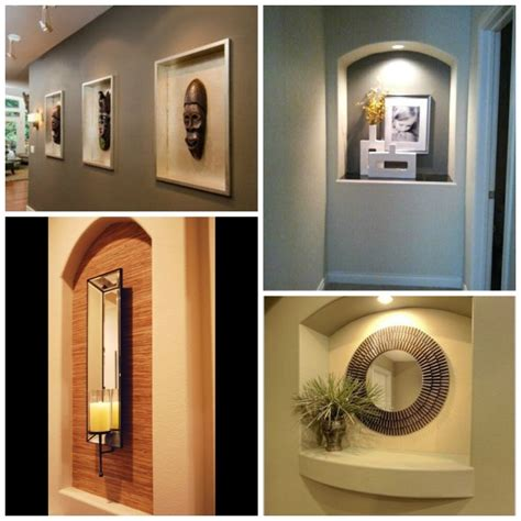 decorating niches living room how to decorate a niche elements at home
