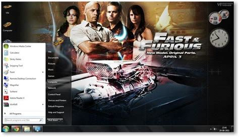theme music of fast and furious 7 fast and furious theme for windows 7