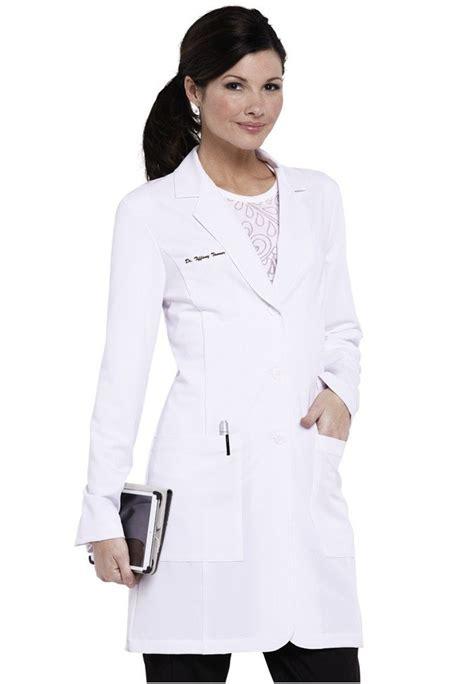 design lab uniforms miami greys anatomy signature soft stretch lab coat w tablet