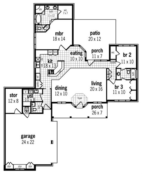 magnolia homes floor plans bay magnolia 1632 1820 3 bedrooms and 2 baths the