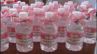 Homemade Baby Shower Decorations For A Girl   Baby Shower Pictures