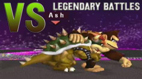 Ashwell by Smash Bros Legendary Battles Bowser Vs Donkey Kong