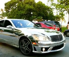 Chrome Mercedes Chrome Mercedes S63 On Miami Cars On