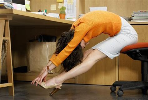 Desk Leg Exercises by 5 Exercises To Do At Your Desk